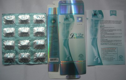 Lida Daidaihua Slimming Capsule (Six Languages)