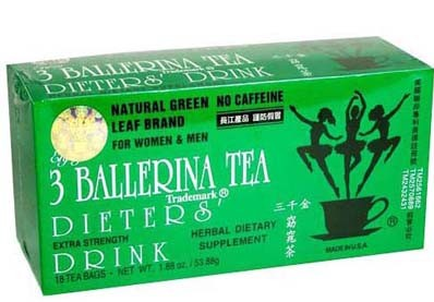 Three Ballerina Tea Slimming Tea